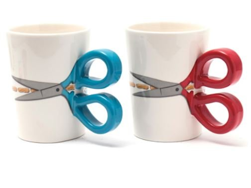 Sewing Scissor Mug 13.5 oz
