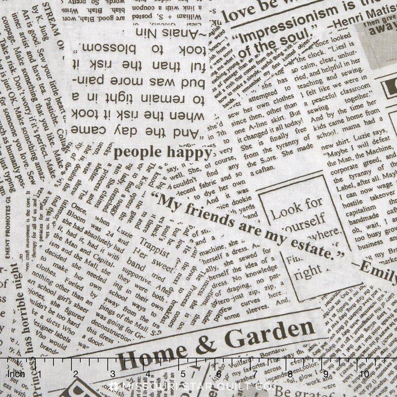 Newsprint Story W675701