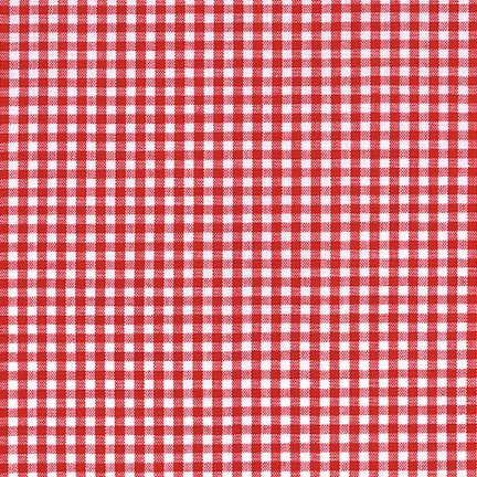 Carolina Gingham 1/8 Crimson P 5689 19