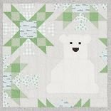 North Stars Block Patty Polar Bear Kit