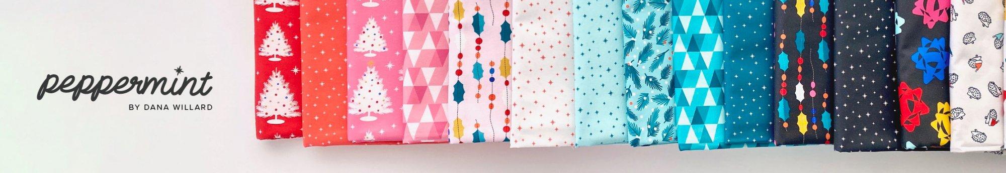 Peppermint by FIGO Fabrics Coming June 2021