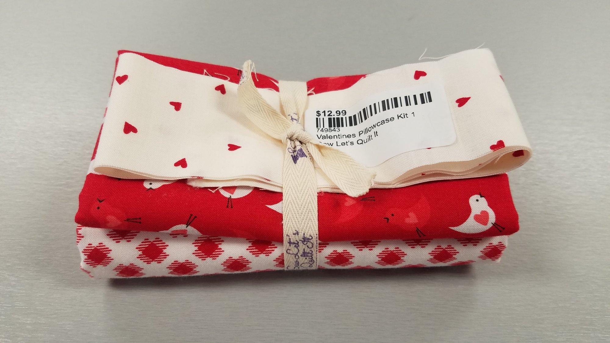 Valentines Pillowcase Kit 1