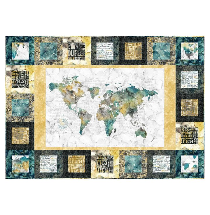 Journey Town Square Quilt Kit