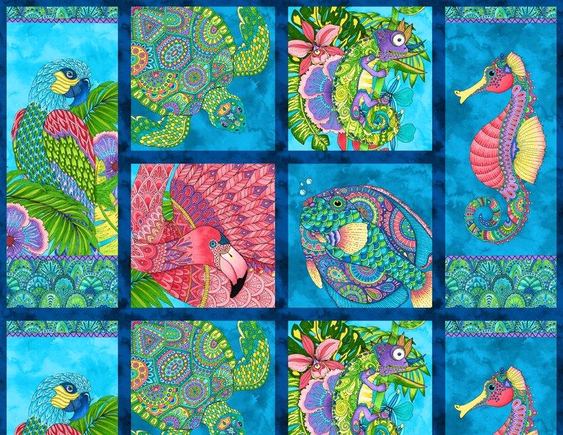 Paradise Falls Craft Panel 24 Repeat 77619 473