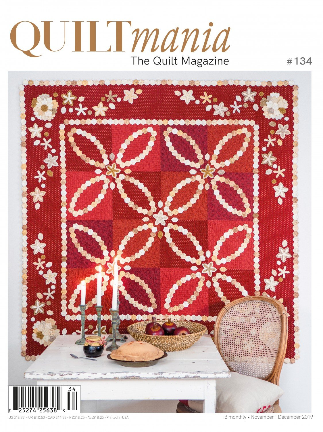 Quiltmania Magazine 134 Nov/Dec 2019