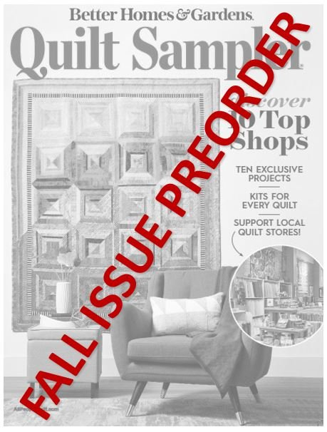 Quilt Sampler Magazine Fall Issue Preorder