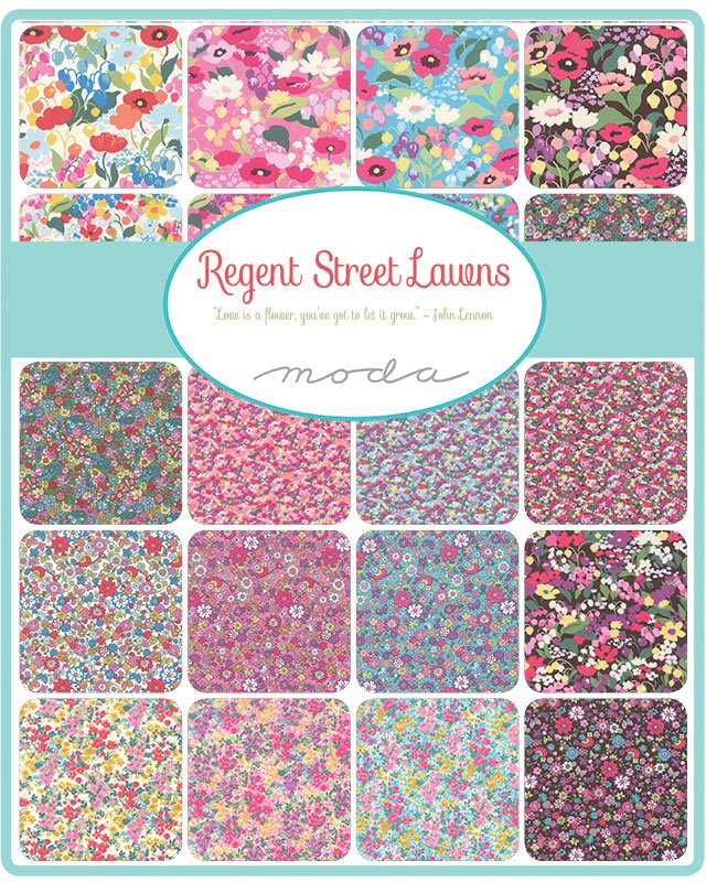 Regent Street Lawns by Moda Fabrics