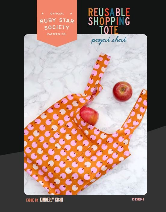 RSS Reusable Shopping Tote Free Digital Download