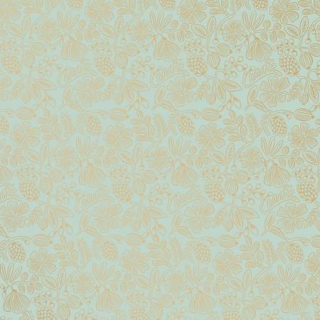 Primavera Moxie Floral Mint Metallic RP308 M12M