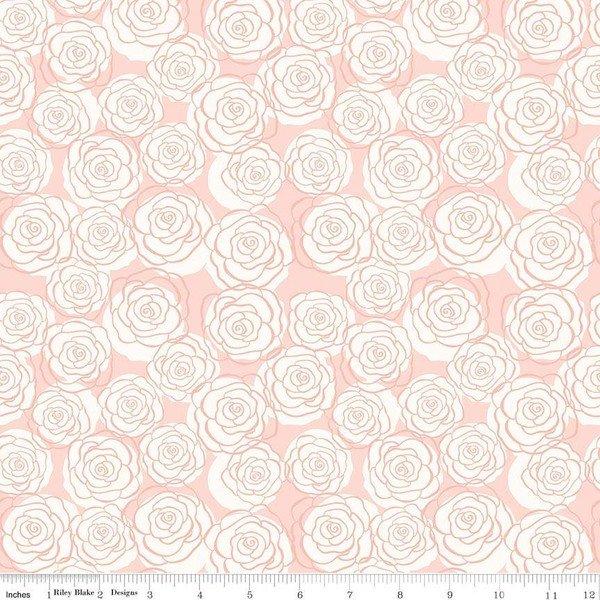 Bliss Roses Blush Sparkle SC8162