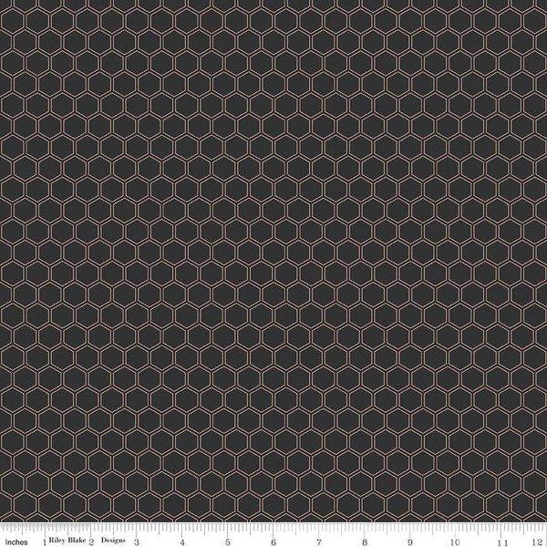 Bliss Honeycomb Black Sparkle SC8165