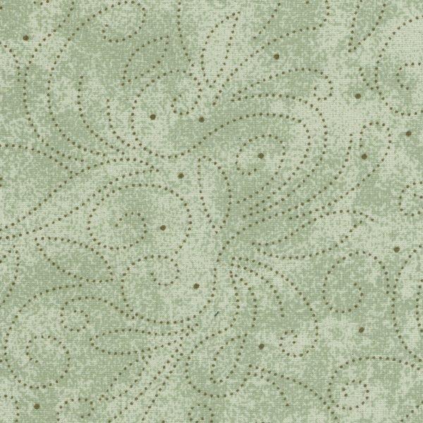 110 Scrolls Cotton Quilt Back RI8040-11