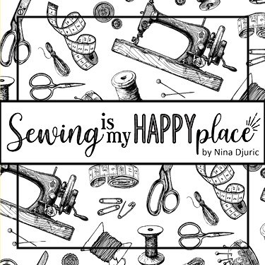 Sewing is my Happy Place Coming September 2021