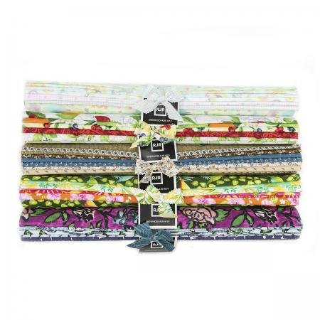 Throwback RJR Half Yard Roll Pack, Total 3 Yards Fabric SHEWHODI-RJR-W19