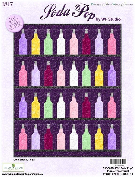 Soda Pop Pattern - Pink