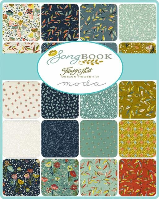 Songbook by Moda Fabrics Coming May 2021