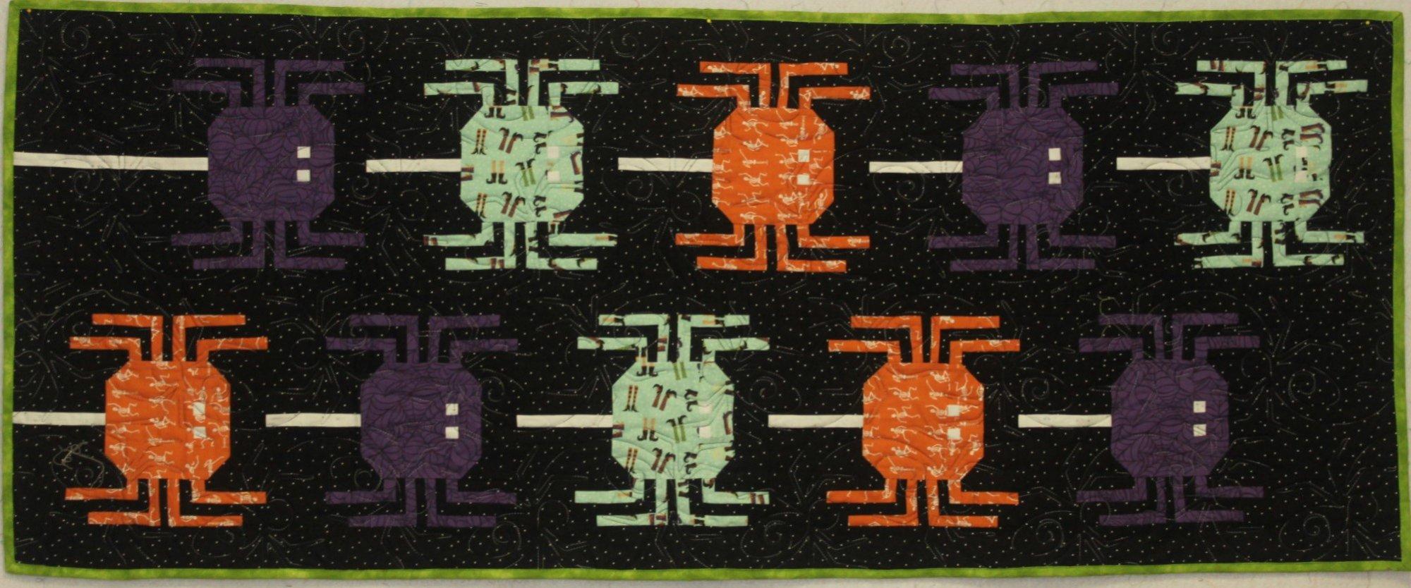 Hocus Pocus Spider Quilt Kit
