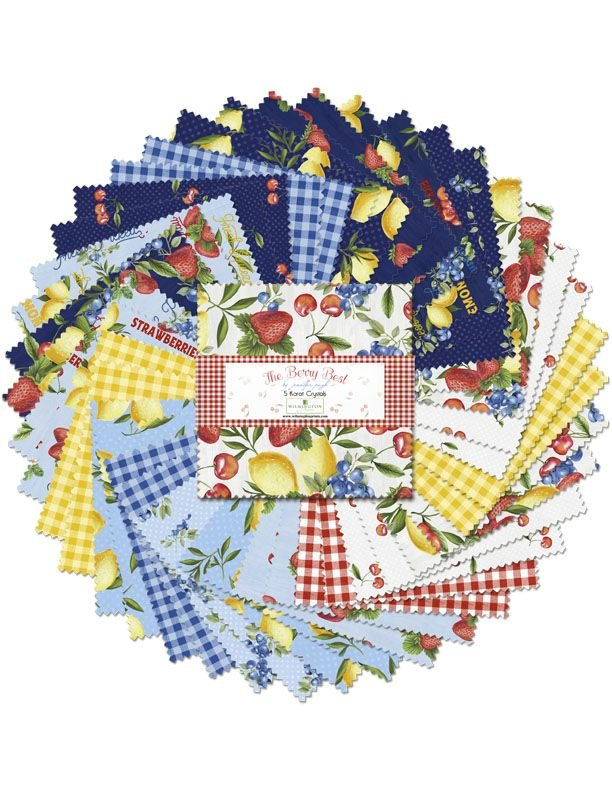 The Berry Best 5 Squares, 42 Pieces 508-650-508