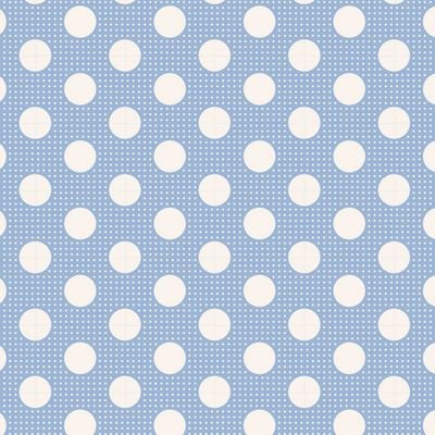 Tilda Medium Dots Blue TIL130002 V11
