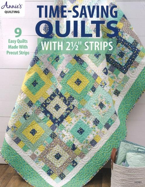 Time Saving Quilts 2 1/2 in Strips AN 141463