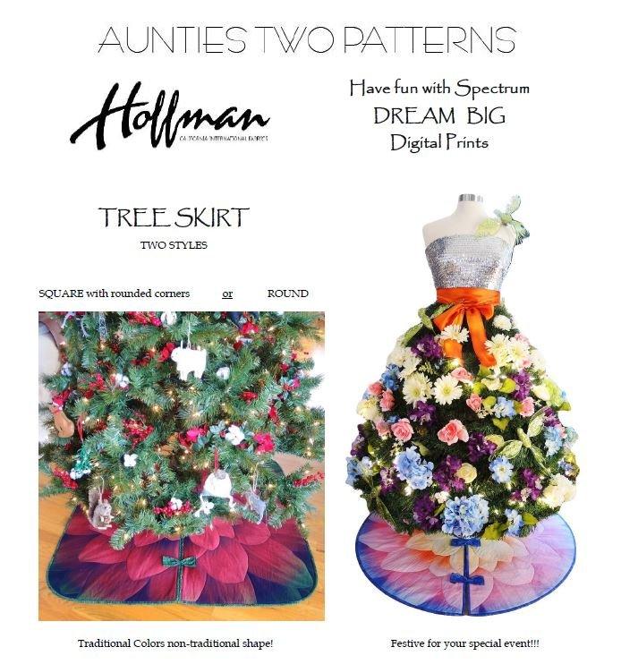 Free Digital Download Tree Skirt Pattern