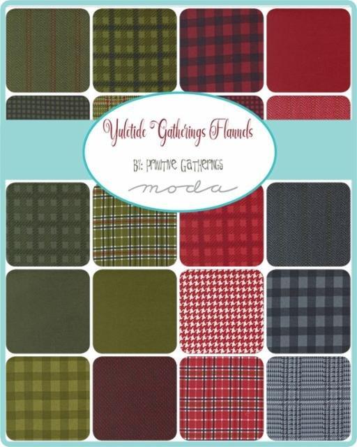 Yuletide Gatherings by Moda Fabrics, Coming June 2021