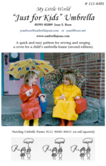 Just for Kids 17 Umbrella Pattern