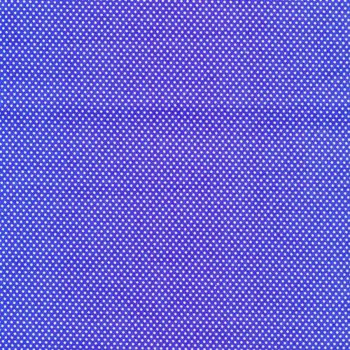 Essentials Micro Dot - Royal/White