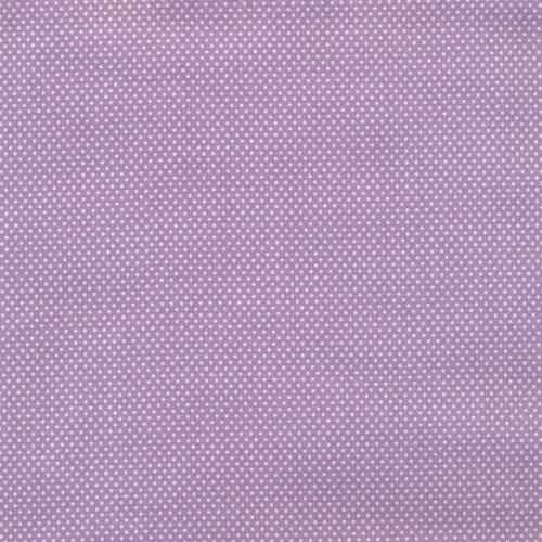Essentials Micro Dot - Lilac/White