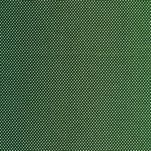 Essentials Micro Dot - Green/White