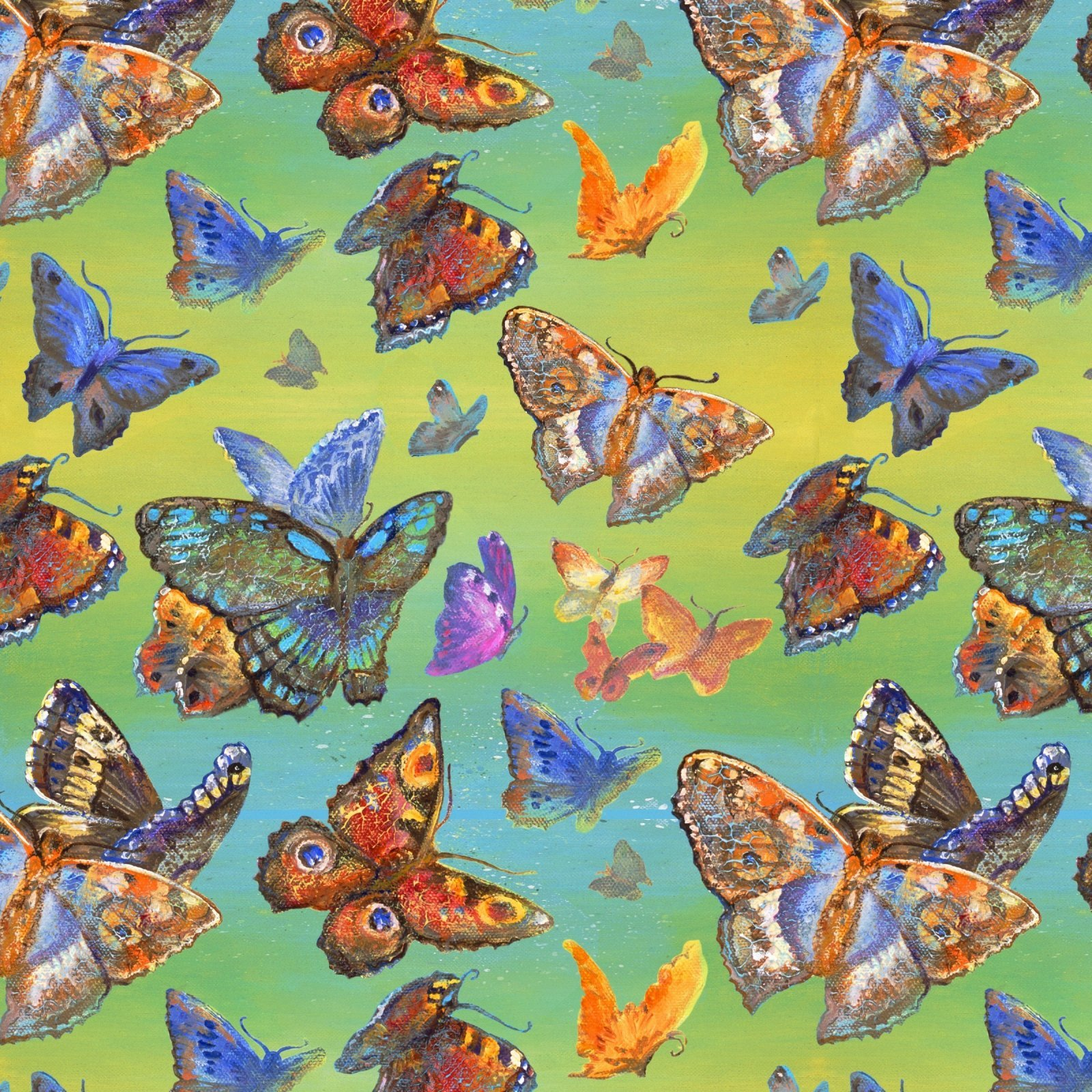 Wings of Joy - 14961 Butterflies Multi