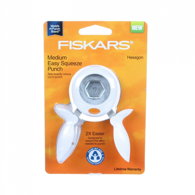 Fiskars Hexagon Squeeze Punch Medium