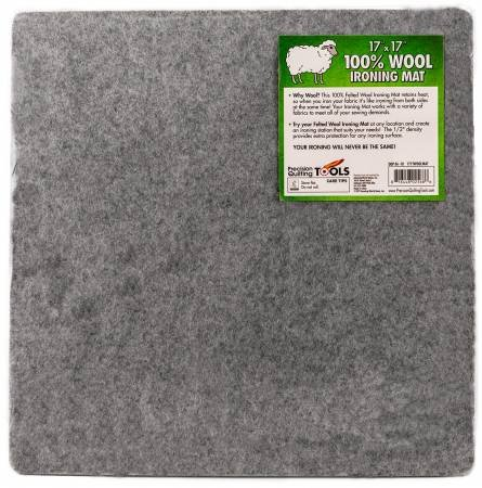 Wool Ironing Mat 17in x 17in x 1/2in Thick