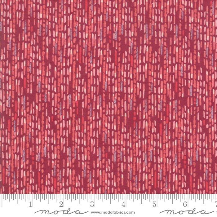 Painted Meadow 48664-19 Burgundy