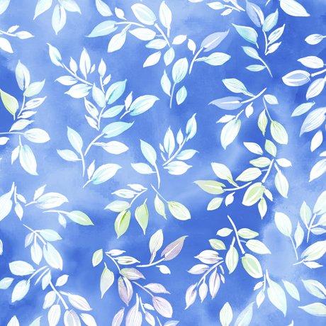 Mimosa - Leaf - Blue