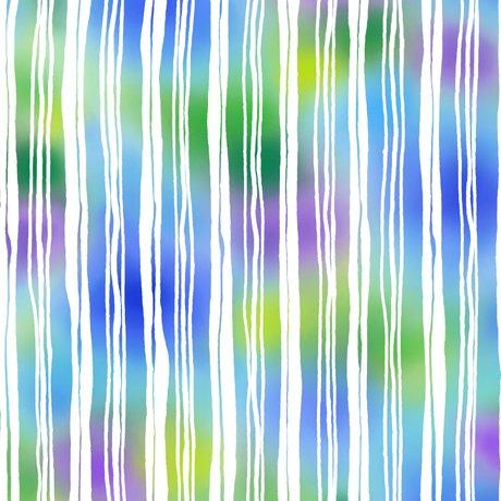 Mimosa - Stripe - Blue