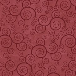 Harmony Curly Scroll - Paprika