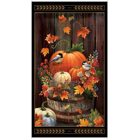 Harvest Elegance - Harvest Panel - Black