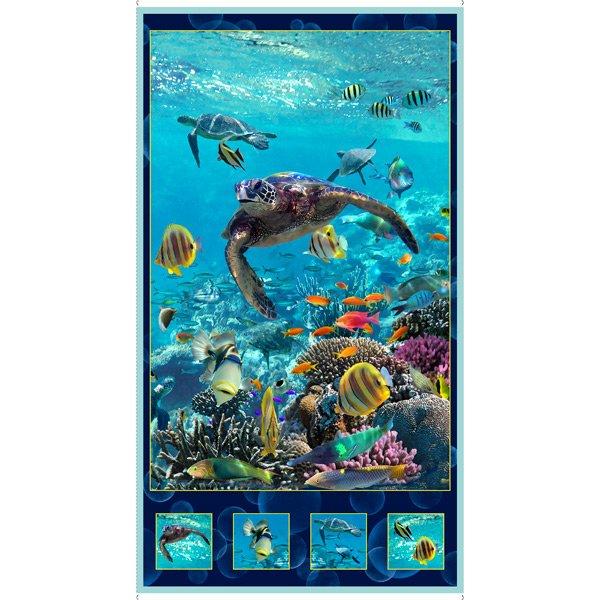 Artworks XVI - Turtle Panel - Turquoise