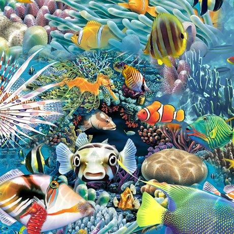 Artworks XVI - Under the Sea - Blue