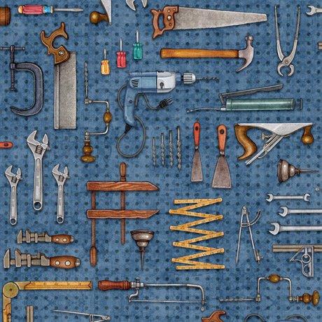 A Little Handy - Tool Pegboard - Blue