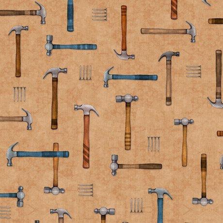 A Little Handy - Hammers - Dark Tan