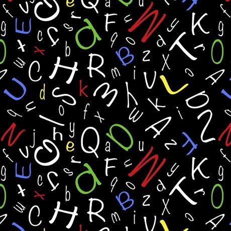 Alphabet Soup - Alphabet Toss - Black