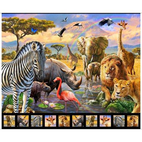 Artworks XVIII - Savanna Panel 36