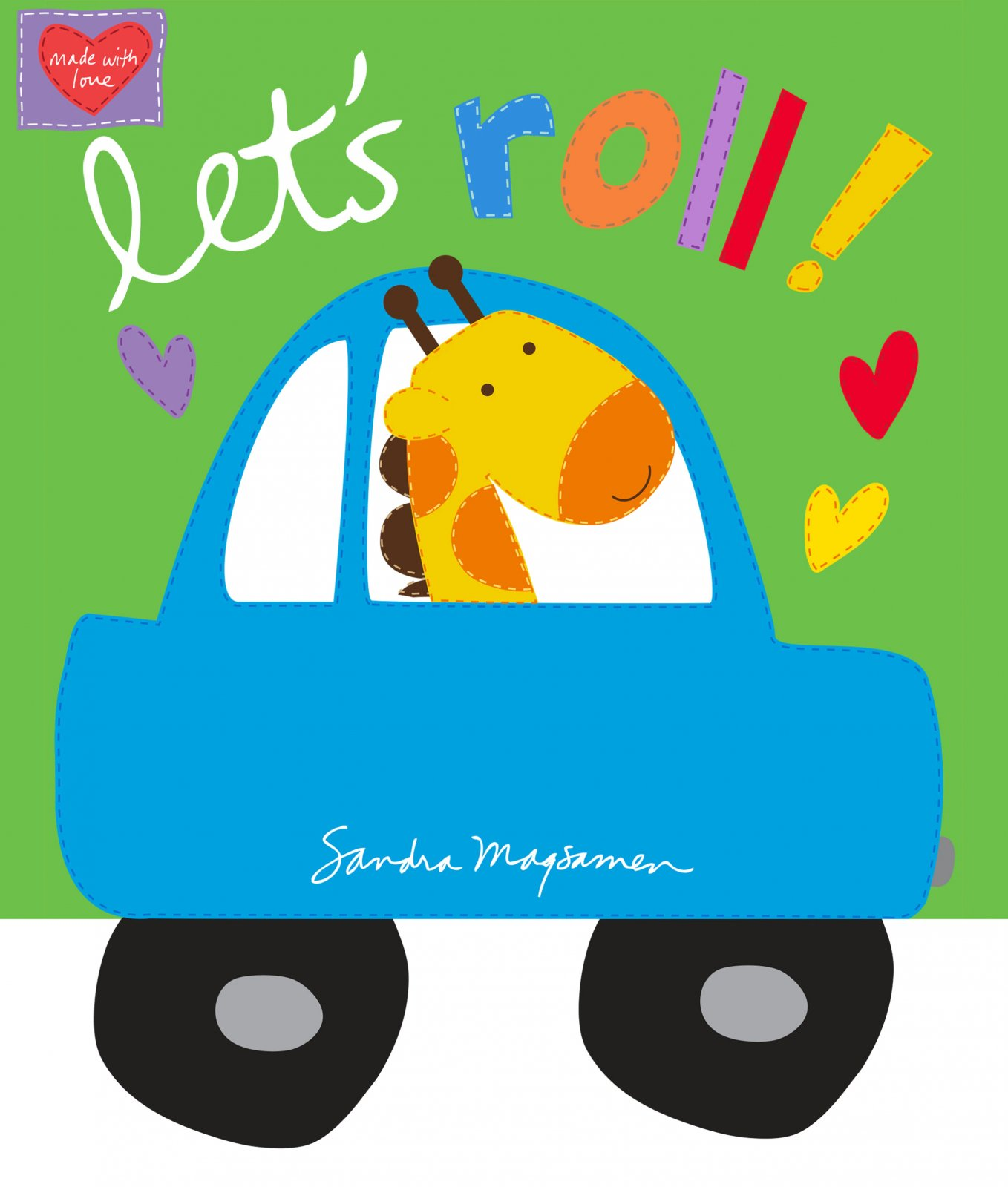 Let's Roll Softbook Panel - White