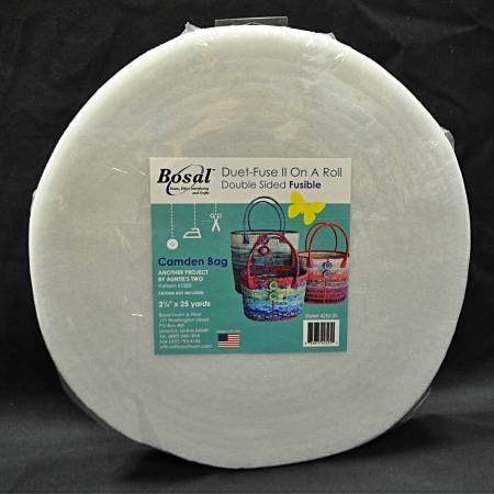 Duet Fuse II Double Sided Fusible Batting 2-1/4in x 25yds