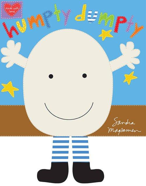 Humpty Dumpty Softbook Panel - Multi