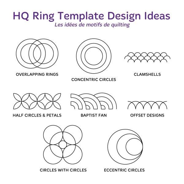 hq ring templates gold set 910940021054