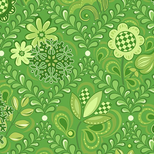 First Frost - Damask Green