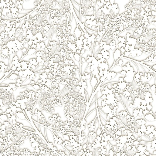 Baby Breath Taupe/White